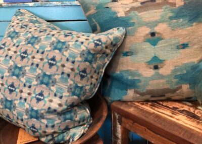 Pine Cone Hill pillows